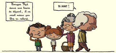 La Petite Famille - Dauvillier & Lizano